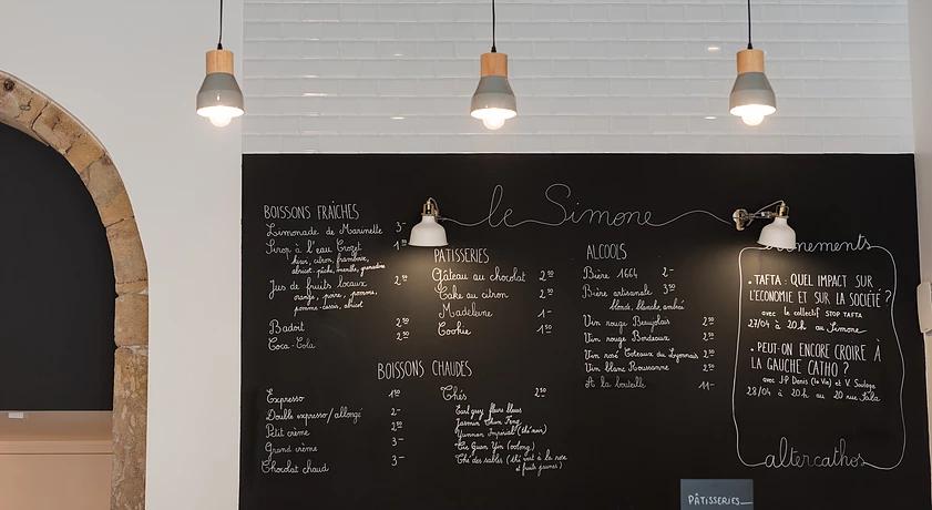COMPTOIR CAFÉ LE SIMONE