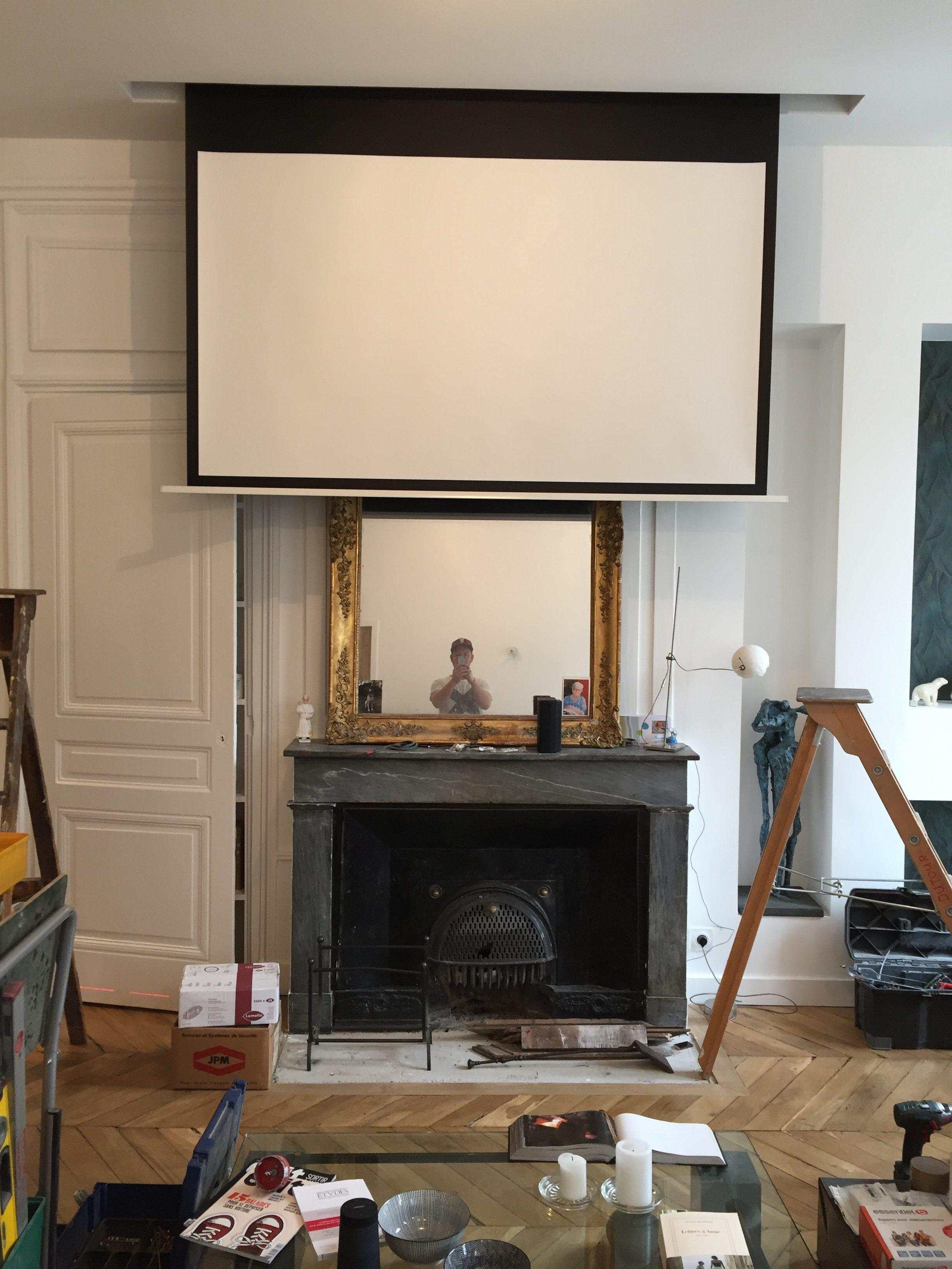 Ecran pour vidéo projecteur